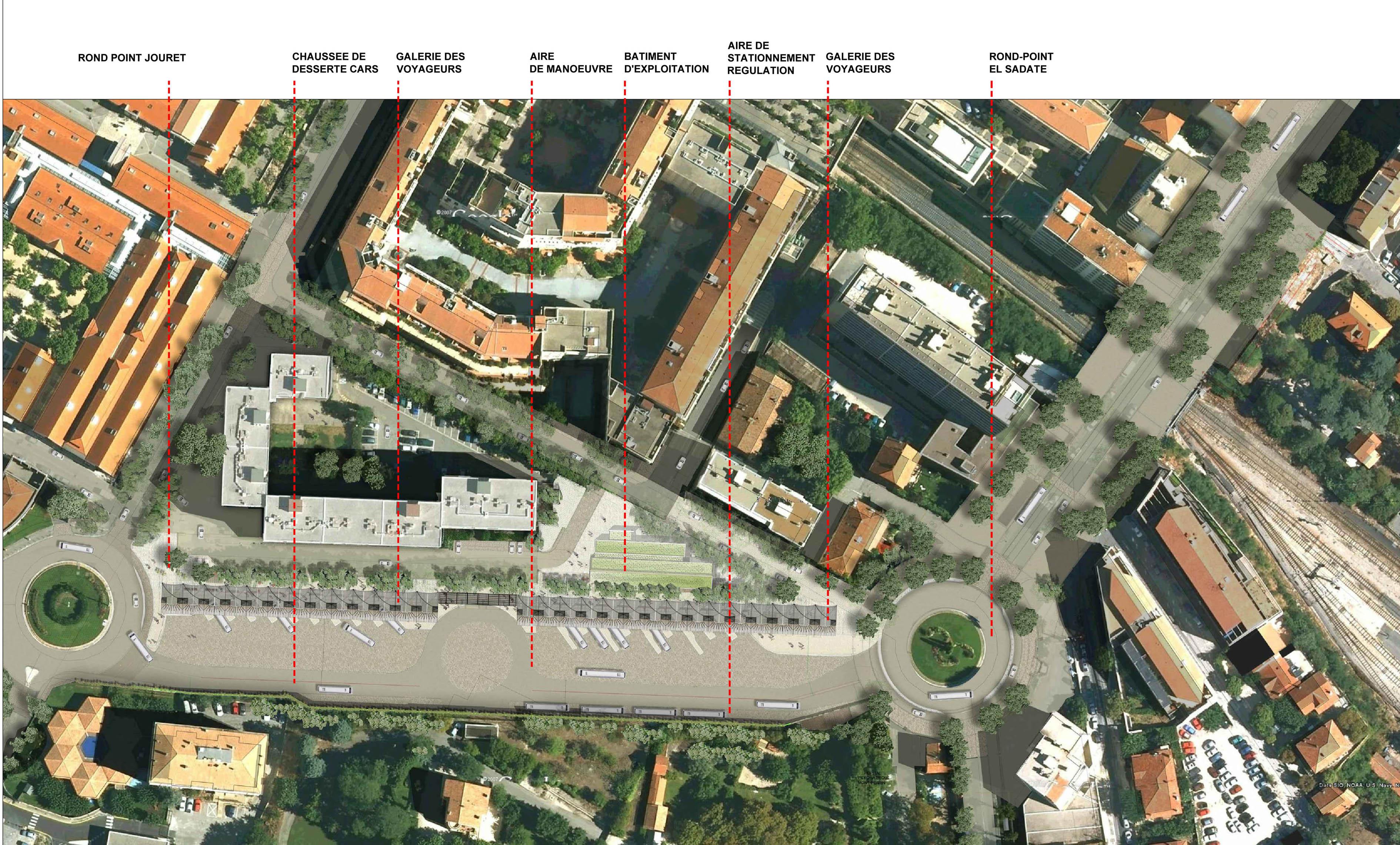 Nouvelle gare routi re d aix en provence spla pays d aix for Gare routiere salon de provence